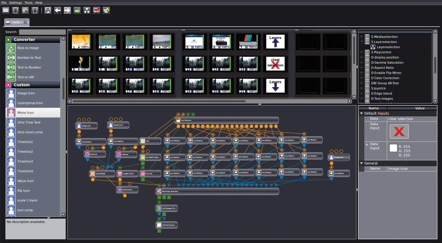 42 CONTROLS® media controller – Layout Editor